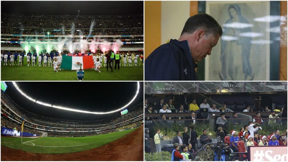 Varias imágenes de la final de la Liga MX en el Estadio Azteca.