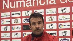 Aritz López Garai, durante su rueda de prensa de este viernes
