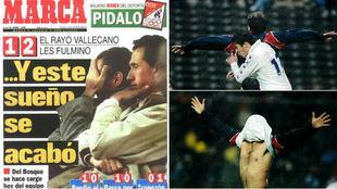 Imágenes de la victoria del Rayo Vallecano ante el Real Madrid en el...