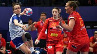 La rusa Vyakhireva, autora de 13 goles, lanza tras superar a la...