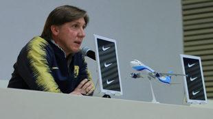 Leandro Augusto, director deportivo de Pumas.