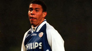 Ronaldo Nazario, when he played for PSV