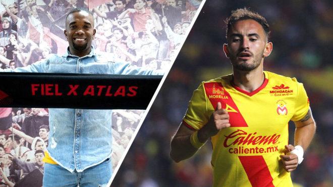 Atlas y Necaxa anunciaron refuerzos este sábado.