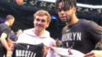 Griezmann se escapa a Brooklyn para ver en directo el Nets-Atlanta