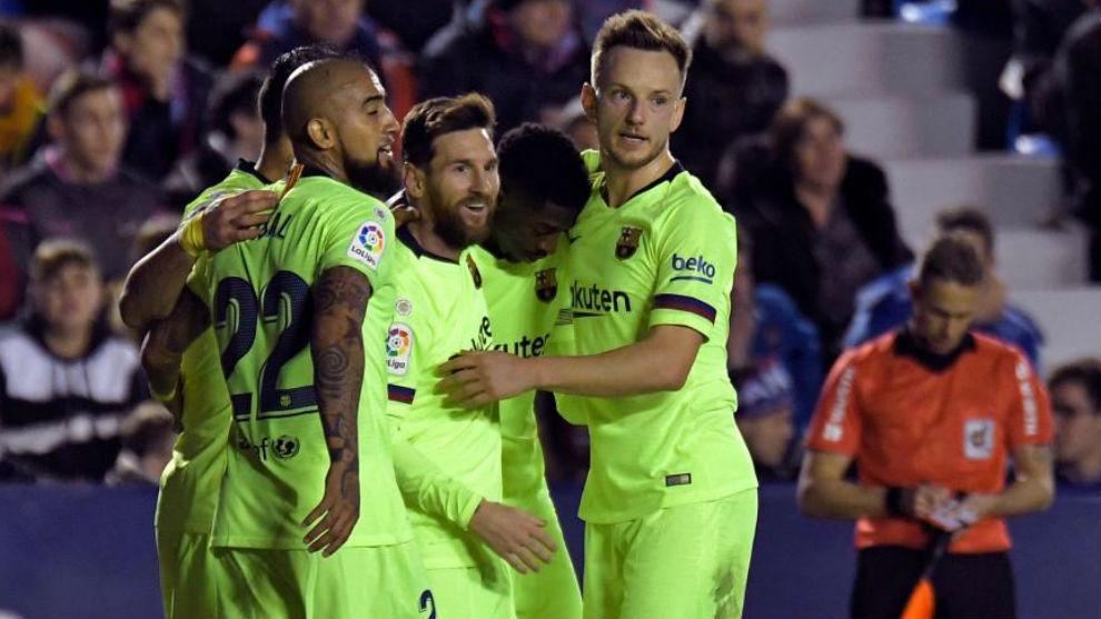 Goles, resumen y videos — Levante vs Barcelona