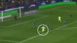 Ojos en la nuca: la brillante asistencia de Messi que engañó a medio Levante