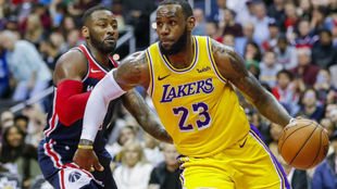 John Wall emparejado en defensa con LeBron James
