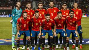 La Selección Española, en Elche.