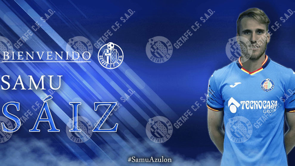Samu Saiz, nuevo jugador del Getafe