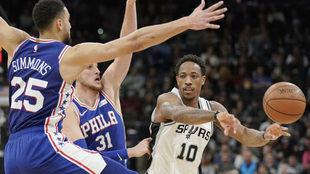 Los Spurs dejan a un equipo con menos de 100 puntos por quinta vez.