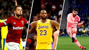 Destaca la actividad de la Premier y de la NBA