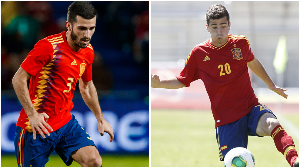 El duelo de la banda izquierda de Mestalla ya ha dado el salto a la  selección absoluta después de enfundarse la camiseta del combinado nacional  por primera ... ac06462829f85