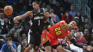 Hawks se impone a Wizards.