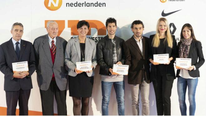Los premiados con el 'Silvestre del Año', en la entrega del galardón