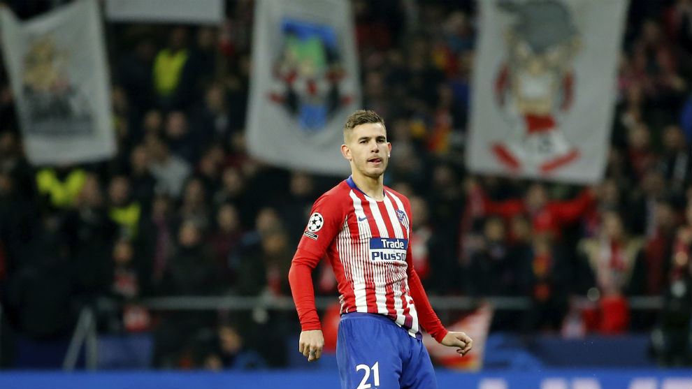 Image result for lucas hernandez atletico madrid 2018/19