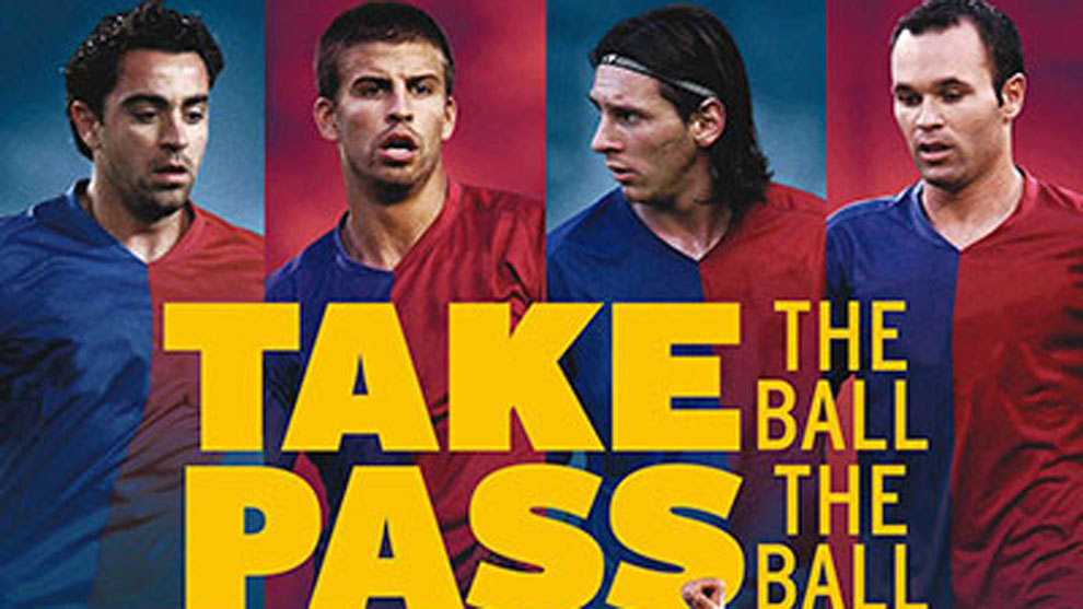 descargar take the ball pass the ball español