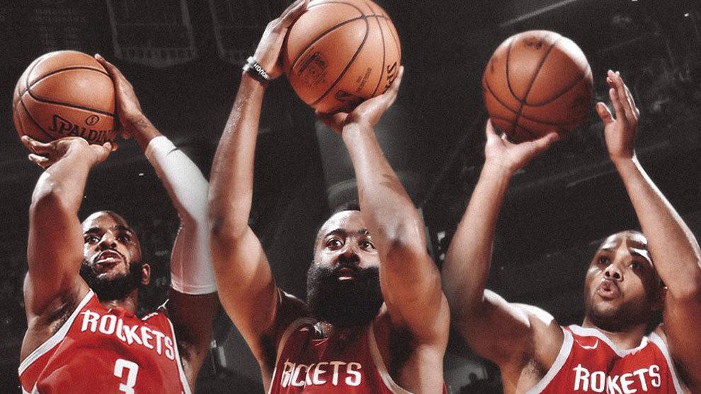 NBA: Histórico Bombardeo De Los Rockets: ¡26 Triples En Un