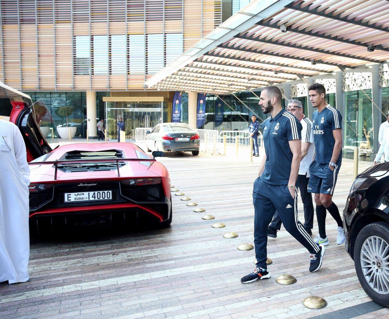 Benzema and Varane