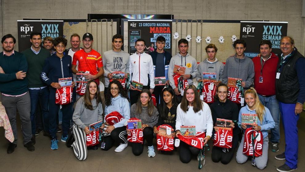 Participantes en el Master del Circuito MARCA Promesas 2018