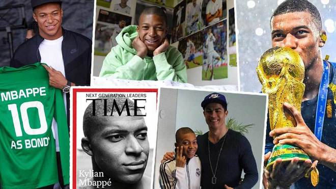 best loved eab3f 5ca10 Football: Twenty defining moments from Mbappe's 20 years ...