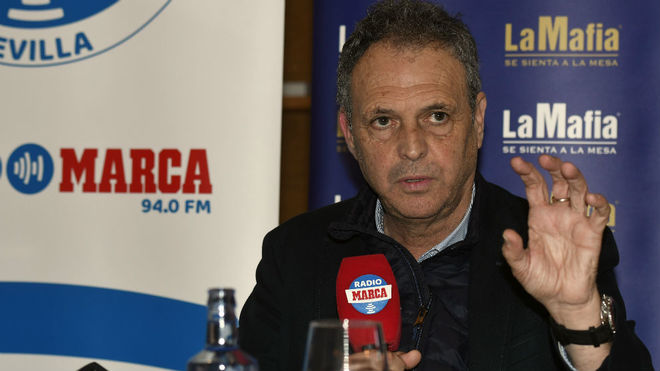 Joaquín Caparrós, en la entrevista con Radio Marca