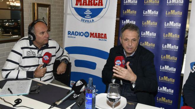 Joaquín Caparrós, en Radio Marca Sevilla.