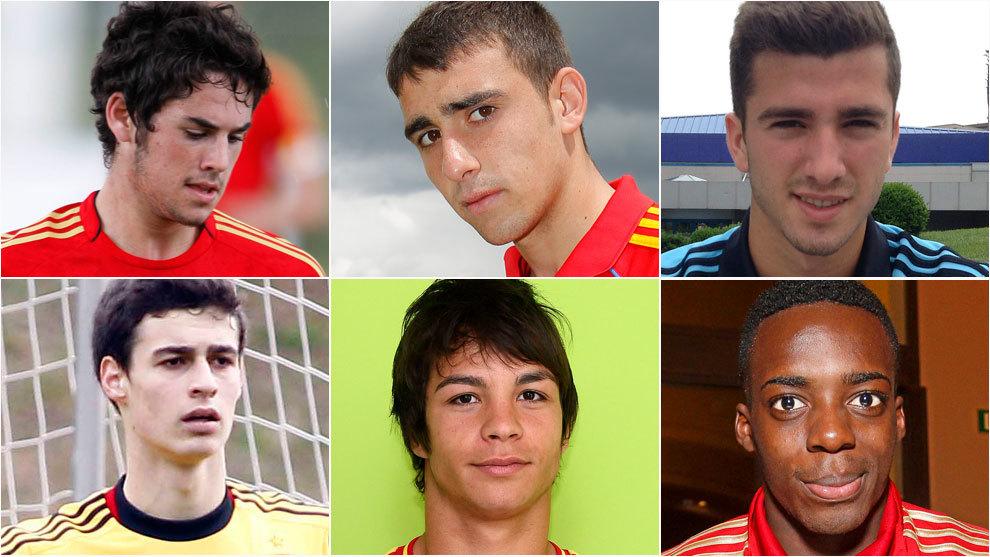 Selección Española Conoce a los futbolistas que más prometían en las  categorías inferiores de la selección 2220e7e4581b6