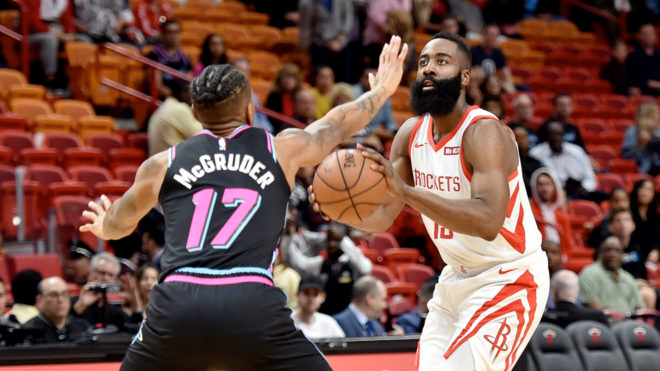 Miami Heat se enracha a costa de Houston Rockets
