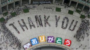 Tokio agradecía en 2013 la elección como sede para los Juegos