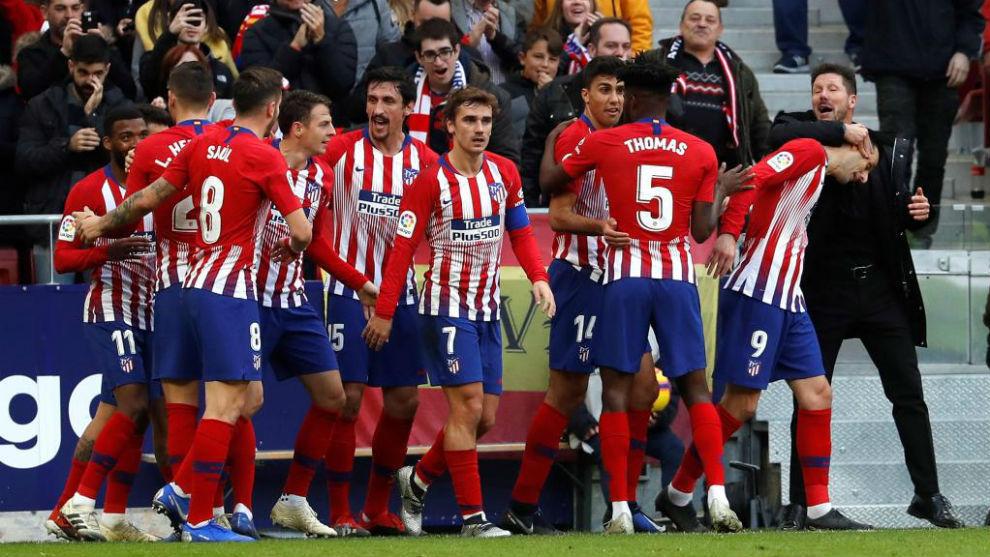 Atlético de Madrid Lleva 13 jornadas consecutivas sin perder bc697e0ee5d