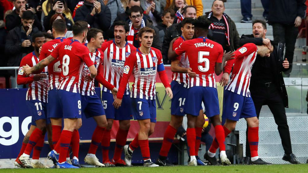 Atlético de Madrid Lleva 13 jornadas consecutivas sin perder fb6b995146e
