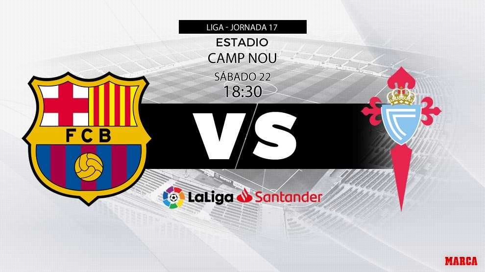 laliga santander fc barcelona vs celta in the name of the goal