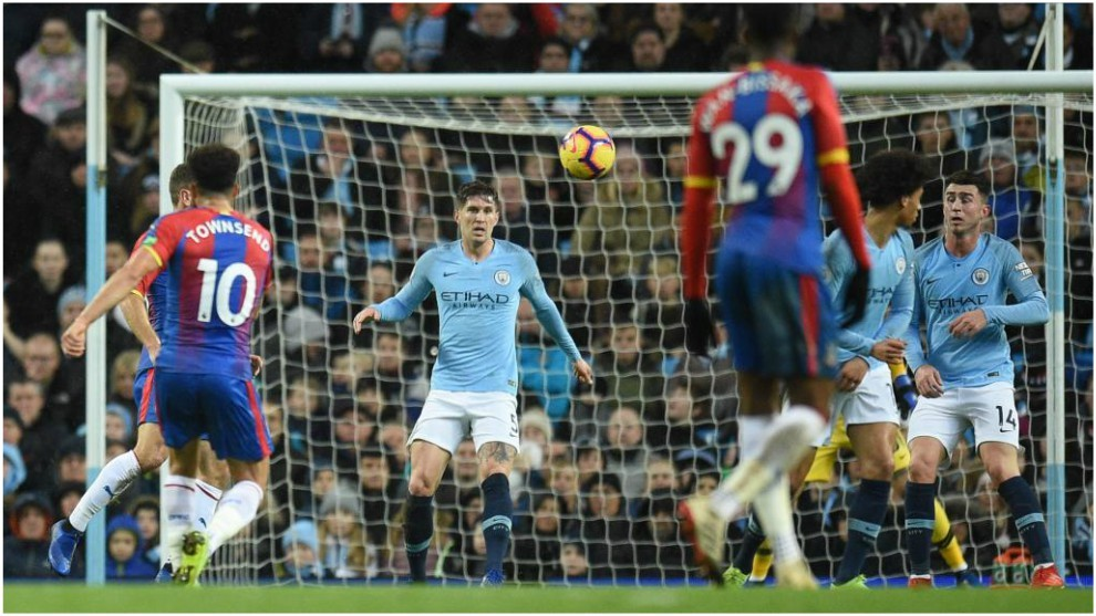 Manchester City 2-3 Crystal Palace.