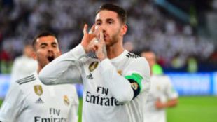 Sergio Ramos mandó callar a quienes le pitaron