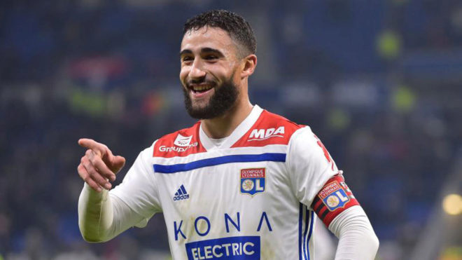 Chelsea are showing serious interest in Lyon star Nabil Fekir