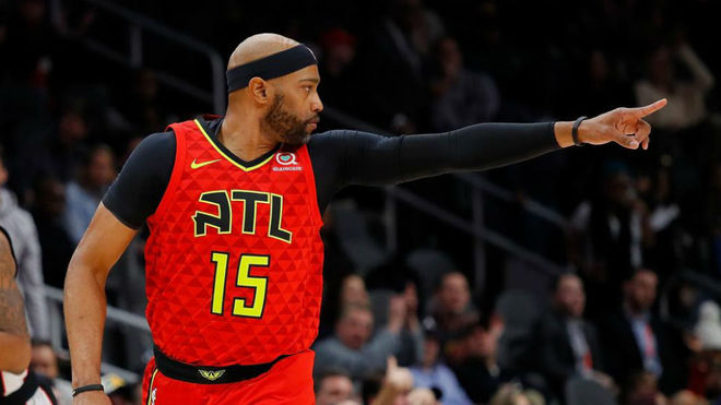 NBA: Pistons vs Hawks: El 'abuelo' Vince Carter todavía tiene ...