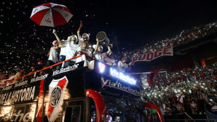 River Plate por fin celebró el título con su afición