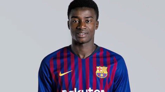 fc barcelona moussa wague another winter signing for barcelona