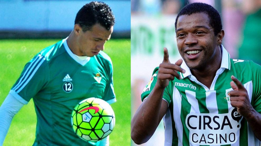 Lenadro Damiao, a la izquierda, y Dorlán Pabón, a la derecha.