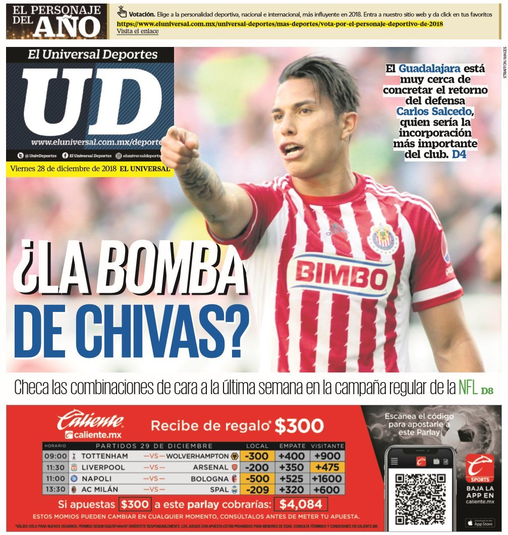 ab922c36c0 El universal deportes | MARCA.com
