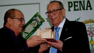 Homenaje a Rafael Campanero Guzmán, socio número uno del Córdoba CF