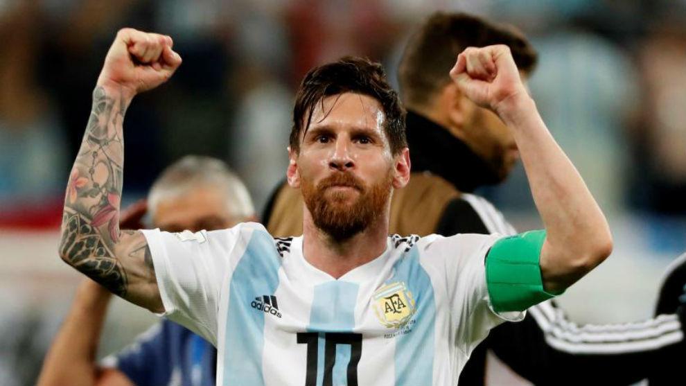 Hasil gambar untuk Messi Argentina