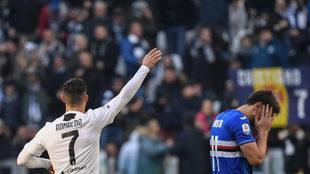 Doblete de Cristiano Ronaldo ante la Samporia