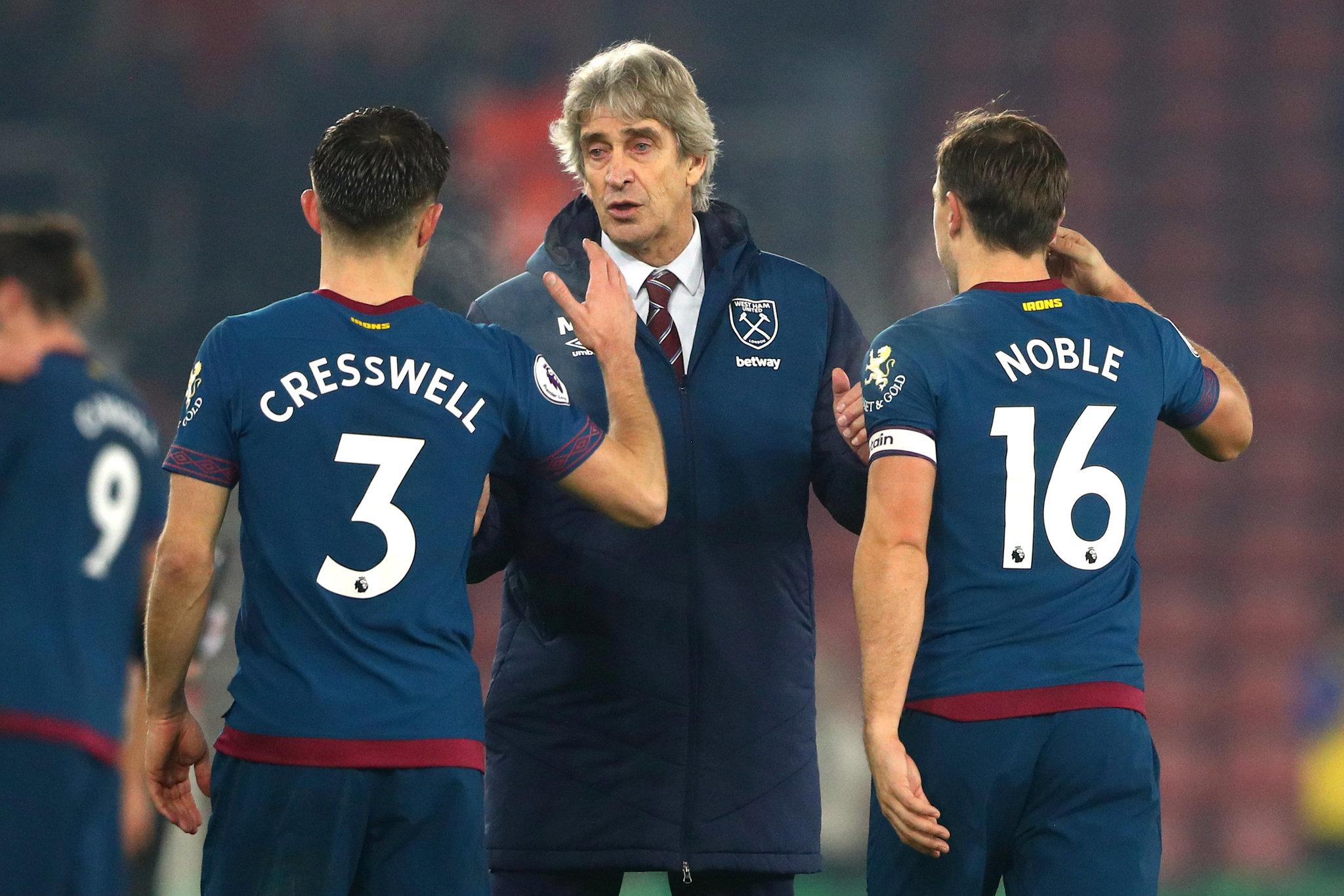ca2faaa7e Premier League  The West Ham of Chicharito and Pellegrini are ...