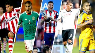 Anotó 10 goles con la selección mexicana