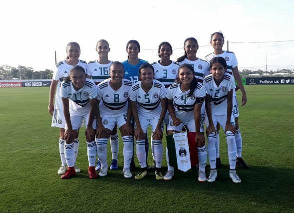 Fútbol Femenil  Un 2018 de contrastes para las selecciones femeniles ... a71dfdc7dcd9d