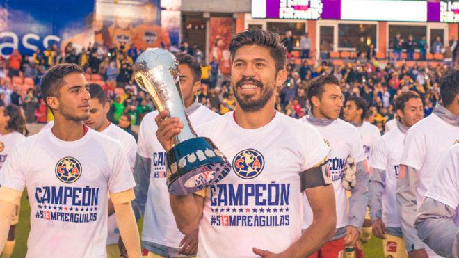 f82ea921f64 Liga MX  El América presume el trofeo de campeón del Apertura 2018 ...