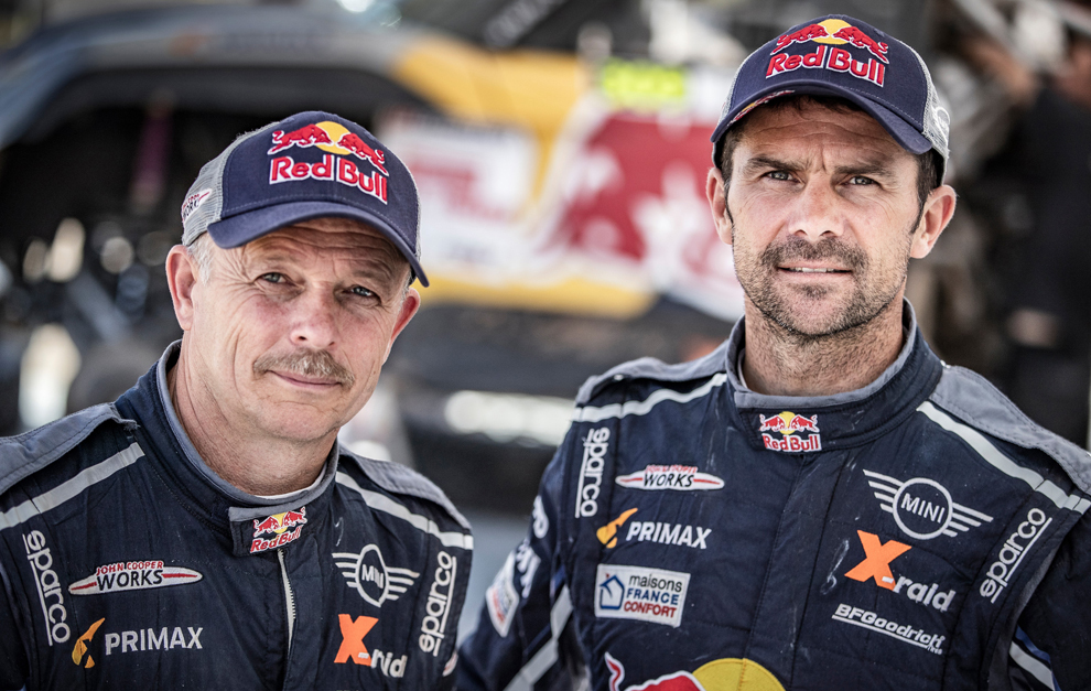 Cyril Despres y Jean Paul Cottret Dakar 2019