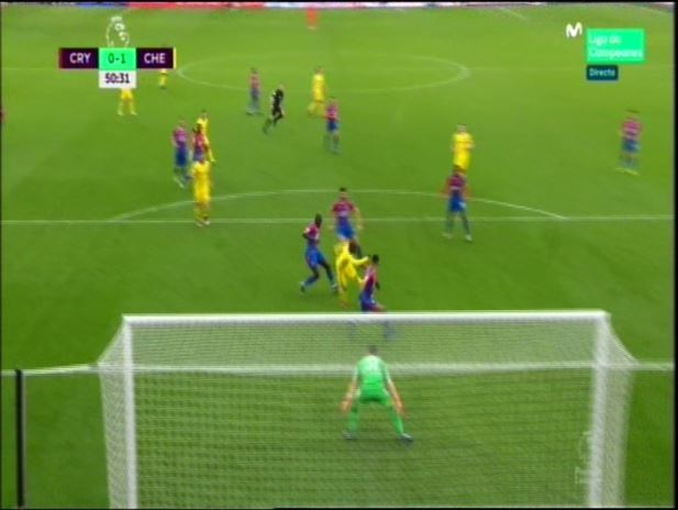 El Chelsea derrota al Crystal Palace con un solitario gol de Kante