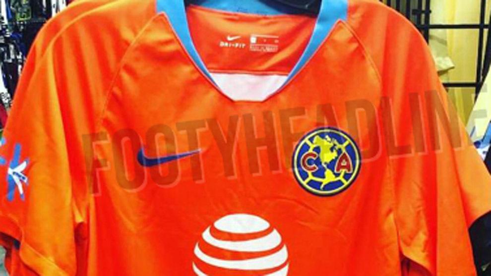 3f27293bbb323 Liga MX  Filtran posible tercer uniforme del América